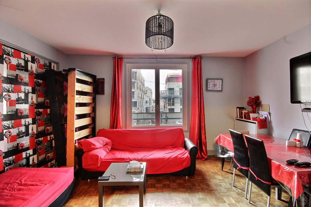 Vente Appartement 3 pièces Pantin 93500